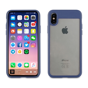 Muvit - Funda Crystal Bump Azul &quote;Edición especial&quote; Apple iPhone 8 muvit
