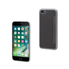 Muvit Carcasa Ultrafina + Tarjetero horizontal Gris Apple iPhone 7 muvit