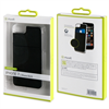 Muvit - Carcasa Transparente + Tarjetero Negro vertical Apple iPhone 7/6S/6 muvit