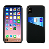 Muvit Carcasa Negra con Tarjetero Diagonal Apple iPhone 8 muvit