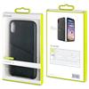 Muvit - Carcasa Negra con Tarjetero Diagonal Apple iPhone 8 muvit