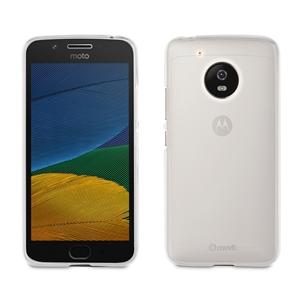 Muvit - Funda Crystal Soft Transparente Motorola Moto G5 muvit