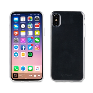 Muvit - Funda Crystal Soft Transparente Apple iPhone 8 muvit