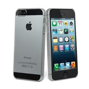 Muvit - Funda Cristal Transparente Trasera Apple iPhone 5 Muvit