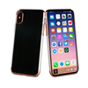 Muvit - Carcasa Crystal Rose Gold Electroplating &quote;Edición especial&quote; Apple iPhone 8 muvit