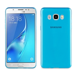 Muvit - Funda Crystal Soft Lite Azul Ultrafina Samsung Galaxy J5 (2016) muvit