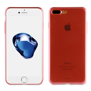 Muvit - Funda Crystal Soft Lite Rosa Ultrafina Apple iPhone 7 Plus muvit