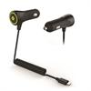 Cargador Coche Lightning MFI 1000mA Apple iPhone 5/iPod Touch 5/iPod Nano 7 Muvit