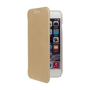 Muvit - Funda Folio Rose Gold parte Trasera Transparenet Apple iPhone 7/6S/6 muvit