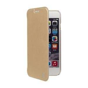 Muvit - Funda Folio Rose Gold parte Trasera Transparente Apple iPhone 7 Plus/6S Plus/6 Plus muvit
