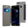 Muvit Funda Folio Negra parte Trasera Transparente Huawei P10 Lite muvit