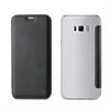 Muvit Funda Folio Negra parte Trasera Transparente Samsung Galaxy S8 Plus muvit