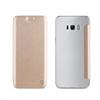 Muvit Funda Folio Dorada parte Trasera Transparente Samsung Galaxy S8 muvit