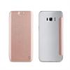 Muvit Funda Folio Pink Gold parte Trasera Transparente Samsung Galaxy S8 muvit