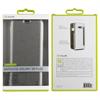 Muvit - Funda Folio Plata parte Trasera Transparente Samsung Galaxy S8 Plus muvit