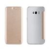 Muvit Funda Folio Dorada parte Trasera Transparente Samsung Galaxy S8 Plus muvit