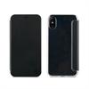 Muvit Funda Folio Negra parte trasera TPU Transparente Apple iPhone 8 muvit