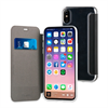 Muvit - Funda Folio Negra parte trasera TPU Transparente Apple iPhone 8 muvit
