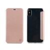 Muvit Funda Folio Rose Gold parte trasera TPU Transparente Apple iPhone 8 muvit