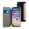 Muvit - Funda Folio Rose Gold parte trasera TPU Transparente Apple iPhone 8 muvit