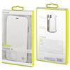 Muvit - Funda Folio Plata parte trasera TPU Transparente Apple iPhone 8 muvit