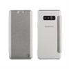 Muvit Funda Folio Plata parte trasera TPU Transparente Samsung Galaxy Note 8 muvit