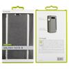 Muvit - Funda Folio Plata parte trasera TPU Transparente Samsung Galaxy Note 8 muvit