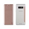 Muvit Funda Folio Rose Gold parte trasera transparente Samsung Galaxy Note 8 muvit