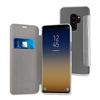 Muvit - Funda Folio Plata parte trasera Transparente Samsung Galaxy S9 Plus muvit