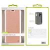 Muvit - Funda Folio Rose Gold parte trasera Transparente Samsung Galaxy S9 Plus muvit
