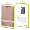 Muvit - Funda Folio Rose Gold parte trasera transparente Huawei P Smart muvit