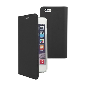 Muvit - Funda Folio Stand Negra Funcion Soporte y Tarjetero Apple iPhone 7 muvit