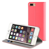 Muvit - Funda Folio Stand Coral Función Soporte y Tarjetero Apple iPhone 7 Plus muvit