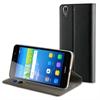 Muvit Funda Folio Stand Negra Funcion Soporte y Tarjetero Huawei Y6 II muvit