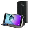Muvit - Funda Folio Stand Negra Funcion Soporte y Tarjetero Samsung Galaxy A5 2017 muvit