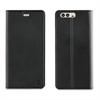 Muvit Funda Folio Stand Negra Funcion Soporte y Tarjetero Huawei P10 muvit