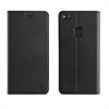 Muvit Funda Folio Stand Negra Funcion Soporte y Tarjetero Huawei P10 Lite muvit