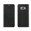 Muvit Funda Folio Stand Negra Funcion Soporte y Tarjetero Samsung Galaxy S8 muvit