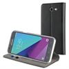Muvit Funda Folio Stand Negra Funcion Soporte y Tarjetero Samsung Galaxy J5 2017 muvit