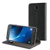 Muvit - Funda Folio Stand Negra Funcion Soporte y Tarjetero Samsung Galaxy J7 2017 muvit