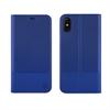 """Muvit Funda Folio Stand Skin Azul Función Soporte con Doble PU """"Edición especial"""" Apple iPhone 8 muvit"""