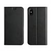 Muvit Funda Folio Stand Función Soporte con TPU y cierre magnético Negra Apple iPhone 8 muvit