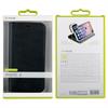 Muvit - Funda Folio Stand Función Soporte con TPU y cierre magnético Negra Apple iPhone 8 muvit