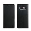 Muvit Funda Folio Stand Función Soporte con TPU y cierre magnético Negra Samsung Galaxy Note 8 muvit