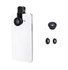 Muvit Kit lentes 3 en 1 Universal Clip (macro,gran angular,ojo de pez,polarizador)muvit
