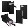 Muvit Funda Magnet Wallet Negra Función Soporte y Tarjetero Apple iPhone 7 muvit