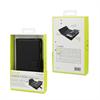 Muvit - Funda Magnet Wallet Negra Función Soporte y Tarjetero Apple iPhone 7 muvit