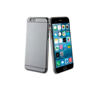 Muvit - Pack Carcasa Cristal Transp.+Tempered Glass 0,33mm Apple iPhone 6 5.5 Muvit