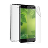 Muvit Pack Funda Cristal Soft Transparente+Protector de Pantalla Flexible Huawei P10 muvit
