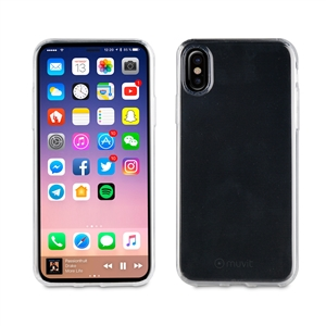 Muvit - Pack Crystal Soft Transp.+ Tempered Glass Case Friendly 0,33mm Apple iPhone 8 muvit
